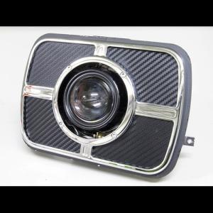 プロテック ZRX1200R / ZRX1100 / ZRX400 / GPZ900R Ninja用 LEDプロジェクターヘッドライト LH-3160 角目タイプ   5000K 63160-50|terranet