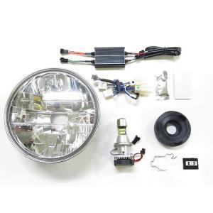 プロテック LBH-H09 CB1100RS['17〜'19 2BL-SC65]用 LEDマルチリフレクターヘッドライトkit 6000K 64007-60|terranet