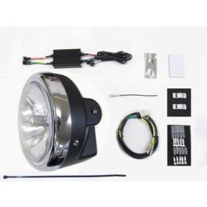 プロテック LBH-H22 モンキー125 / モンキー125ABS['18〜 2BL-JB02]用 LEDマルチリフレクターヘッドライトkit 3000K 64011-30|terranet
