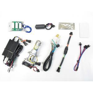 プロテック グロム['13〜'15 JC61]専用 LEDヘッドライトバルブキット LB4-GRM HS1 Hi/Lo 6000K 65022|terranet