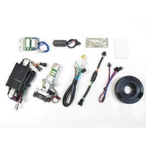 即納 プロテック スーパーカブ110['12〜 JA10]専用 LEDヘッドライトバルブキット LB4-SC HS1 Hi/Lo 6000K 65024|terranet