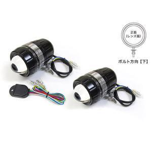 プロテック 自動車用LEDフォグライト FLH-533 (REVセンサー付 左右1set) ボルト方向【下】 67533-D|terranet