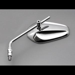 デイトナ(DAYTONA) シェイブミラー【左右共通 1個売り】 M8 クロームメッキ/ブルーミラー 70950|terranet