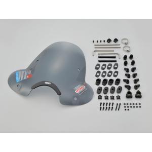 デイトナ(DAYTONA) GIVI(ジビ) バイク用 大型ウインドスクリーン A650[セミスモーク] 93970 terranet