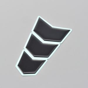 デイトナ(DAYTONA) タンクパッド 3ピース Sサイズ ブラック 94870|terranet