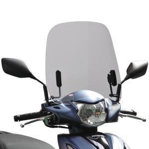 af-asahi(旭風防 旭精器製作所) ディオ110[EBJ-JF58]用 ウインドシールド(スクリーン) クリア DO-13|terranet