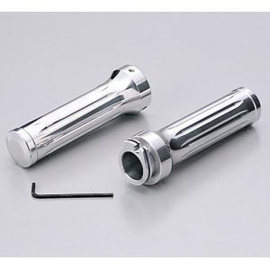 アルミ合金削り出し ハンドル径φ22.2mm用 グリップ径φ30mm グリップ長126mm 内径長1...