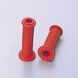 ラバータイプ ハンドル径φ22.2mm用 グリップ径φ32mm 全長123mm 貫通タイプ ノーマル...