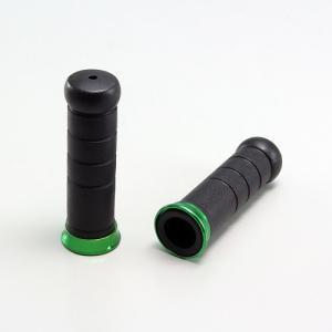 ラバー&アルミリング ハンドル径φ22.2mm用 グリップ径φ31mm グリップ長120mm 内径長...