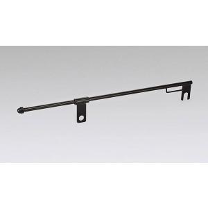 即納 キジマ(KIJIMA) サドルバッグスライドレール 全長375mm ロング スチール製ブラック ※左右兼用 ハーレー用 HD-08045 terranet