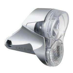 即納 キャットアイ(CATEYE) 自転車用LEDライト HL-HUB150 ハブダイナモ用ヘッドライト [シルバー] 52620082|terranet