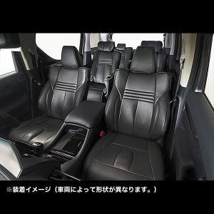 COLIN エムライン(mLINE)シートカバー(アクロプレミアム) TOYOTA プリウス用 ブラック SEAT-A2406B terranet