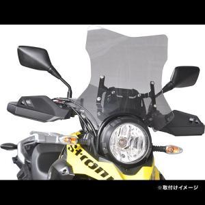 af-asahi(旭風防 旭精器製作所) Vストローム250用 ウインドシールド(スクリーン) VS-04|terranet