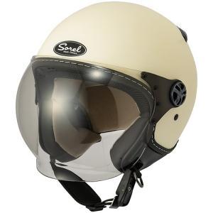 シレックス(Silex) SOREL レディースヘルメット M / SHINE IVORY (マッドシャインアイボリー) ZS-211K-SMIV terranet