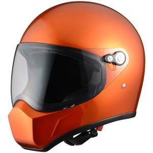 シレックス(Silex) FUJIN(風神)フルフェイスヘルメット ORANGE METARIC (オレンジメタリック) Lサイズ ZS730-OML terranet
