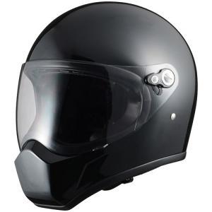 シレックス(Silex) FUJIN(風神)フルフェイスヘルメット PEARL BLACK (パールブラック) Lサイズ ZS730-PBL terranet