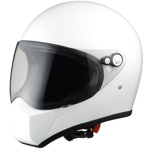 シレックス(Silex) FUJIN(風神)フルフェイスヘルメット PEARL WHITE (パールホワイト) Lサイズ ZS730-PWL terranet