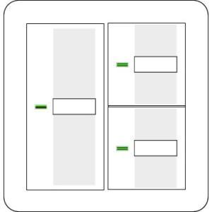 2raasd  [あすつく] パナソニック コスモシリーズワイド21 表示付・ネーム付 2連ラウンドプレートホワイト・ハンドルホワイトセット スイッチ3個用|terukuni
