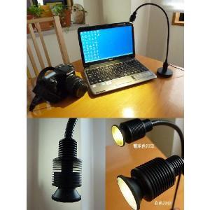 704D Mini-Task Lamp  ミニタスクランプ ブラック 白色LED あすつく ニシオ商会|terukuni