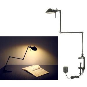 713B Pro-Task Lamp  新型LEDプロタスクランプ クランプ型 アルミ3本アーム 5WパワーLED 電球色3000K ニシオ商会|terukuni