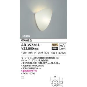 AB35728L   ブラケット [LED電球色] コイズミ照明|terukuni