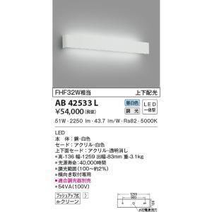 パナソニック横長ブラケット[LED昼白色]AB42533Lあすつく terukuni