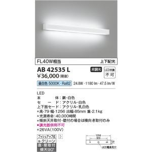 パナソニック横長ブラケット[LED昼白色]AB42535Lあすつく terukuni