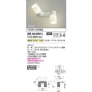 AB46480L   フランジタイプスポットライト [LED温白色] コイズミ照明|terukuni
