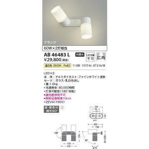 AB46483L   フランジタイプスポットライト [LED温白色] コイズミ照明|terukuni