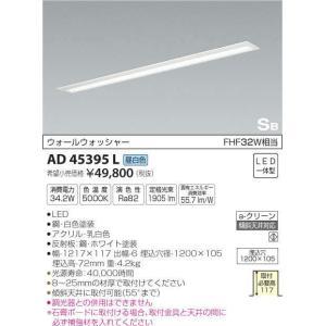 AD45395L ON-OFFタイプ ウォールウォッシャー 埋込型キッチンライト [LED昼白色] コイズミ照明|terukuni