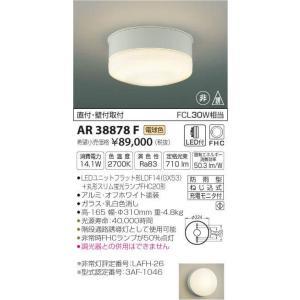 施設照明階段通路誘導灯[LED電球色]AR38878F|terukuni