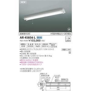 AR45856L 反射笠付2灯 直管LEDランプ搭載 非常用照明器具 [LED昼白色] コイズミ照明|terukuni