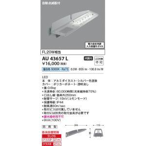 コイズミ照明自動点滅器付防犯灯[LED昼白色][シルバー]AU43657L terukuni