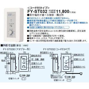 FY-ST032   換気扇用温度スイッチ  あすつく パナソニック terukuni