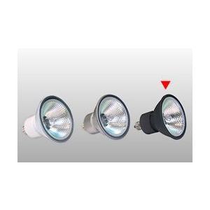 JDR110V40WLMKBL USHIO ダイクロハロゲンランプリアコートタイプ 110V用E11口金 Φ50mm 40W(中角)(黒) JDR110V40WLM/K-BL