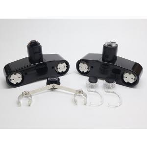 カメダデンキ2灯用カメダレールソケットW配線ダクト用LEDベースライトソケット2灯タイプ[ブラック][ランプ別売]KRS-2CS-BKあすつく|terukuni