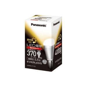 パナソニックLDA6L-E17/DE17口金LED電球 6.4W(電球色相当)(調光器対応)小形電球25W形相当(370lm)LDA6L-E17/Dあすつく terukuni