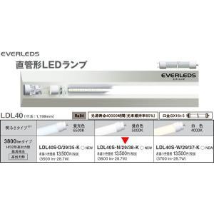 LDL40SN2938K LDL40S・N/29/38-K LDL40高出力形3800lmタイプ  直菅LEDランプ [LED昼白色5000K] あすつく パナソニック|terukuni