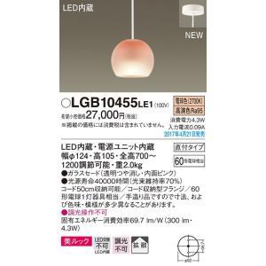 LGB10455LE1 60形 美ルック  コード吊ペンダント [LED電球色] パナソニック|terukuni