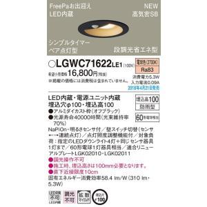 パナソニックLED屋外用ダウンライト[明るさセンサ付][電球色][ペア点灯型]LGWC71622LE1 terukuni