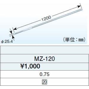 DXアンテナリブパイプ(1.2m・溶融亜鉛メッキ)MZ-120あすつく|terukuni