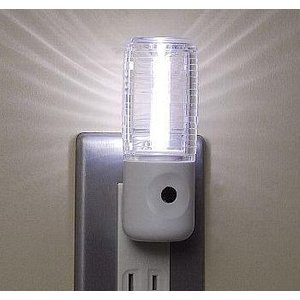 フットライト明暗センサーLEDナイトライト[LED白色]NL30WH|terukuni