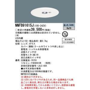 施設照明埋込型φ150リモコン自己点検機能付LED非常用照明器具[LED昼白色][低天井用〜3m]NNFB91615Jあすつく|terukuni