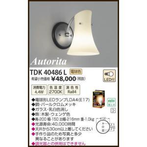 TDK40486L Autorita アウトリタ イタリア製  ブラケットライト [LED電球色] アカネライティング|terukuni