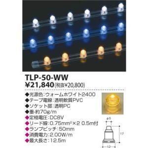 TLP-50-WW トキスターコーポレーション TOKILEDS トキレッズ テープライト・スタンダード ウォームホワイト2400 terukuni