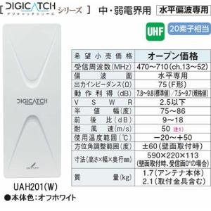 DXアンテナDIGICATCH デジキャッチシリーズUHF平面アンテナ (オフホワイト)UAH201-Wあすつく|terukuni