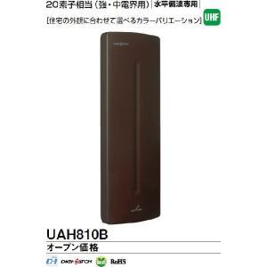 屋外アンテナ あすつく DXアンテナ UAH810B UHF平面アンテナ ブラックブラウン|terukuni