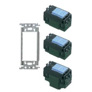 wt3700-065 コスモシリーズワイド21配線器具 スイッチ金属取付枠(WT3700)スイッチセット 065  あすつく パナソニック|terukuni