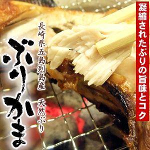 国産(長崎県五島列島産)の天然ぶりのぶりかま(ブリカマ、ブリかま、鰤鎌)です。