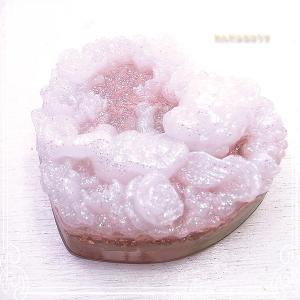 ハートローズ 天使 (白) オルゴナイト [わんだふるはうす] 天然石 作家作品♪ de-38-wh-84cc|tesorocoltd